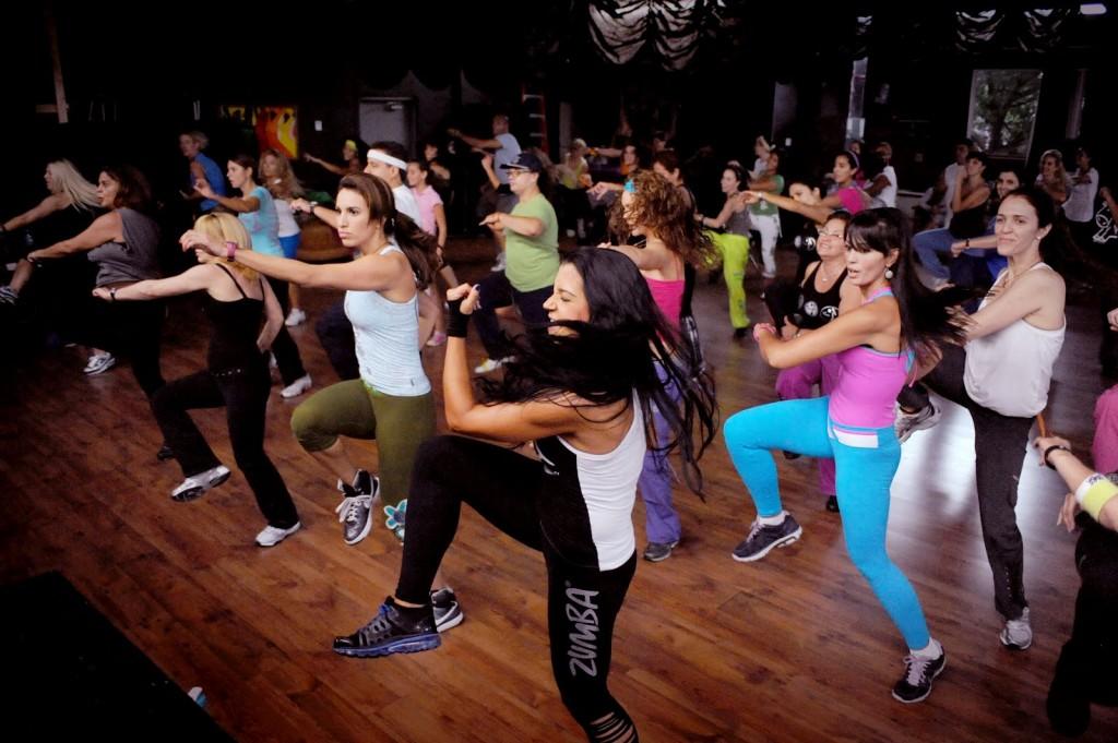 Classe di Zumba® Fitness