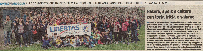 Natura Sport & Cultura a Montechiarugolo con il CP Libertas di Parma